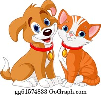 Cat And Dog Clip Art Royalty Free Gograph