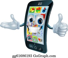 Cell Phone Clip Art Royalty Free Gograph