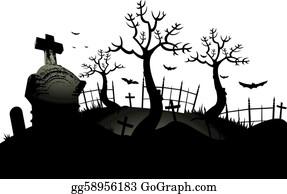 Graveyard Clip Art