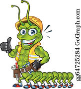 Centipede Clip Art 667 Formats Included With This | Clip art, Art, Centipede