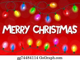 Merry Christmas Lights.Christmas Lights Clip Art Royalty Free Gograph