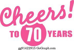 70th Birthday Clip Art Royalty Free Gograph