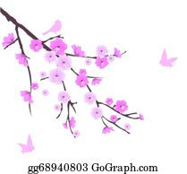 Sakura Blossoms Clip Art