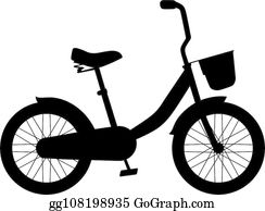 Children Bike Clip Art - Royalty Free - GoGraph