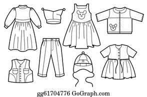 Clothes Clip Art - Royalty Free - GoGraph