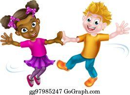 Kids Dancing Clip Art Royalty Free Gograph