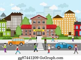 Street Clip Art
