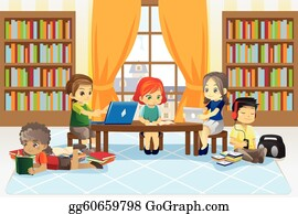 Library Clip Art Royalty Free Gograph