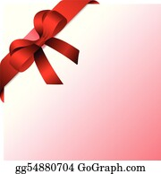 Christmas Bow Clip Art - Royalty Free - GoGraph