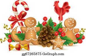 Christmas Food Clip Art Royalty Free Gograph