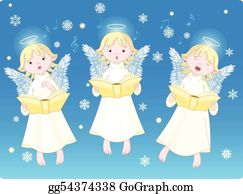 Angels Singing Clip Art Royalty Free Gograph