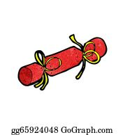 Christmas Cracker Clipart.Christmas Cracker Clip Art Royalty Free Gograph