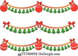 Christmas Garland Clipart.Christmas Garland Clip Art Royalty Free Gograph