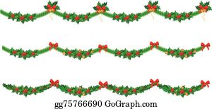 Christmas Garland Clip Art Royalty Free Gograph