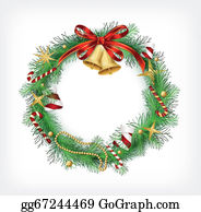 Clipart Merry Christmas Greeting Card Christmas Tree Front Door Front Door  Images Marble Background Stock Photo - Download Image Now - iStock