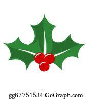 Christmas Holly Cartoon.Christmas Holly Cartoon Royalty Free Gograph