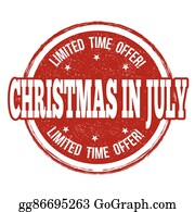 Christmas In July Royalty Free Images.Clip Art July Royalty Free Gograph