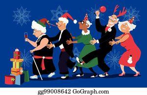 Retirement Party Clip Art - Royalty Free - GoGraph