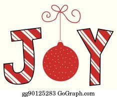 Christmas Joy Clip Art Royalty Free Gograph
