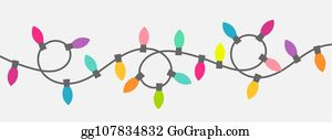 String Of Christmas Lights.String Christmas Lights Clip Art Royalty Free Gograph