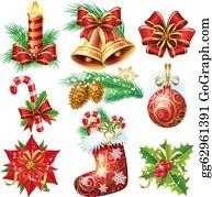 Christmas Garland Clip Art Royalty Free Gograph