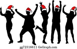 Christmas Party Pictures Clip Art.Christmas Party Clip Art Royalty Free Gograph
