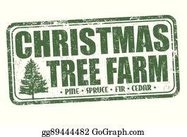 Christmas Tree Farm Clip Art Royalty Free Gograph