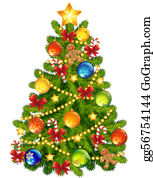 Clipart Christmas Tree.Christmas Tree Clip Art Royalty Free Gograph