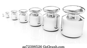 980915f76e7 Drawing - Calibration weights. Clipart Drawing gg67358222 - GoGraph