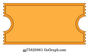 Ticket Clip Art - Royalty Free - GoGraph
