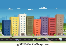 Cartoon Office Building Clip Art Royalty Free Gograph