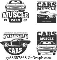 Clip Art Vector Vintage Car Service Logo Auto Repair Grunge