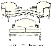 Sofa Clip Art Royalty Free Gograph