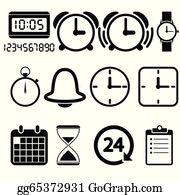 Speed dating clocks