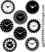 Watch Face Clip Art - Royalty Free - GoGraph