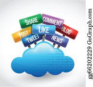 Social Networking Clip Art