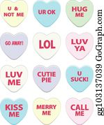 Free Candy Hearts Cliparts, Download Free Clip Art, Free Clip Art on Clipart  Library
