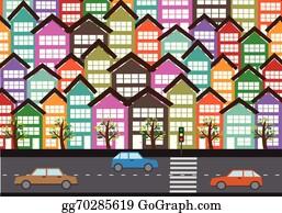 Traffic Jam Cartoon Royalty Free Gograph