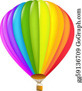 Hot Air Balloon Clip Art Royalty Free Gograph