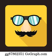 44ee286ae67 Fake Nose Clip Art - Royalty Free - GoGraph