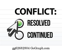 Conflict Clip Art - Royalty Free - GoGraph