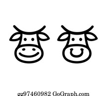 Vector Illustration Farming Milk Labels And Stamps Stock