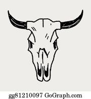 Cow Skull Clip Art Royalty Free Gograph