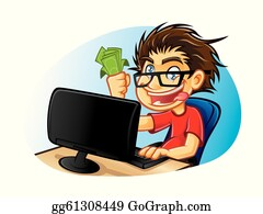 Computer Nerd Clipart | Free Images at Clker.com - vector clip art online,  royalty free & public domain