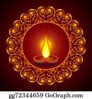 Vector stock creative diwali greeting vector stock clip art creative eid greeting vector illust creative diwali greeting m4hsunfo