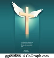Wings Cross Chains - Angel Wings And Chains Tattoo Clipart (#4091301) -  PikPng