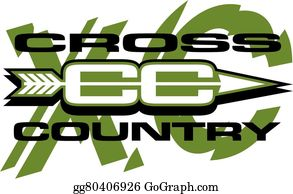 Cross Country Running Clip Art - Royalty Free - GoGraph