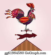 Rooster Clip Art - Royalty Free - GoGraph