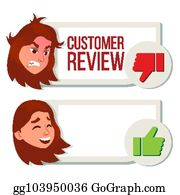 Vector Stock - Customer feedback vector  reviews golden