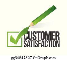 Customer Satisfaction Clip Art - Royalty Free - GoGraph